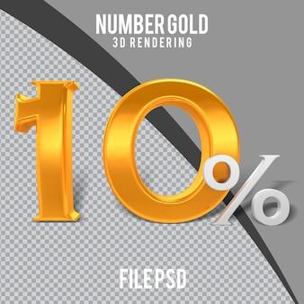 3d golden 10 prozent