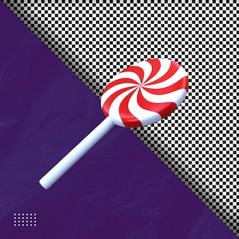 3d-halloween-süßigkeit-illustration