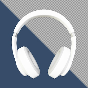3d-headset weiß