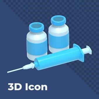 3d-impfstoffsymbol