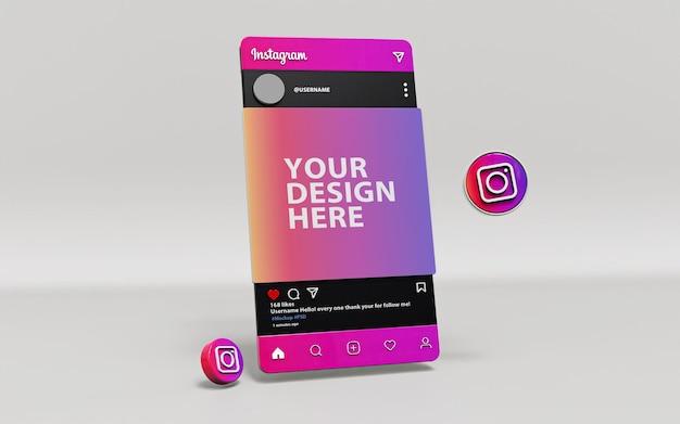 3d-instagram-mock-up-kunstwerk
