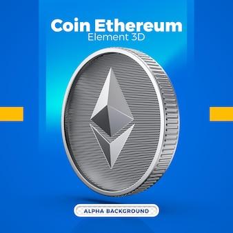 3d-münz-ethereum-eth-design