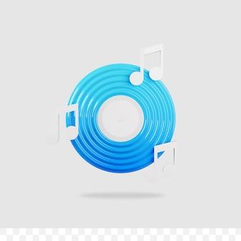 3d-musiksymbol