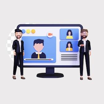 3d-online-webinar für unternehmen