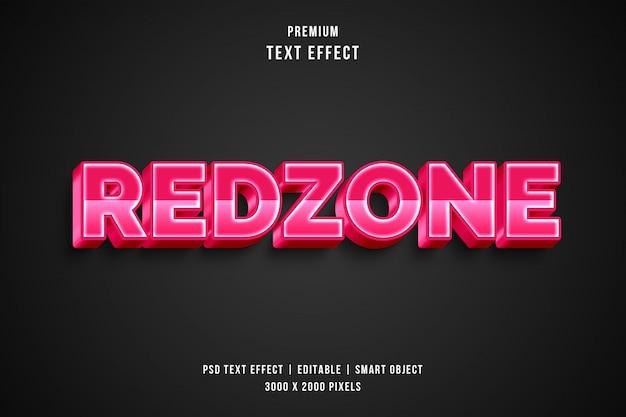 3d-redzone-textstileffekt