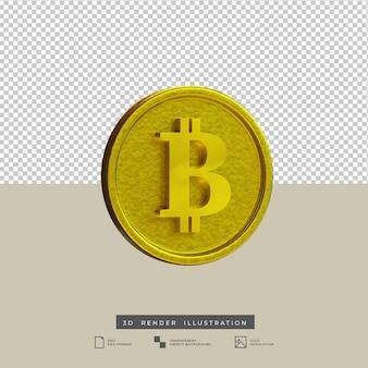 3d-render-gold-bitcoin-illustration