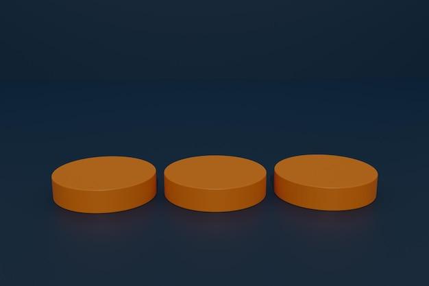 3d-render-podium-produkt-display-hintergrund