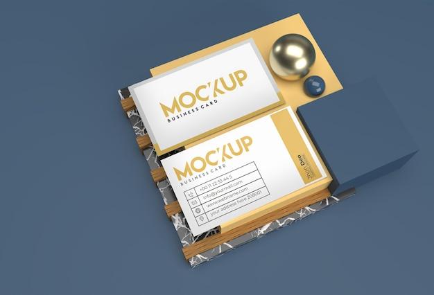3d-render-stapel-visitenkarten-modell-design.