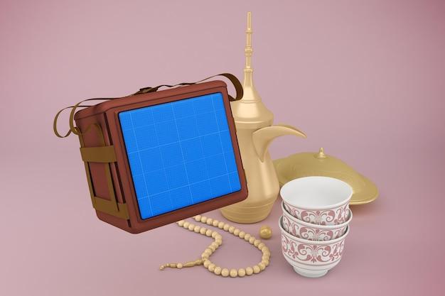 3d-rendering des eid-liefermodells