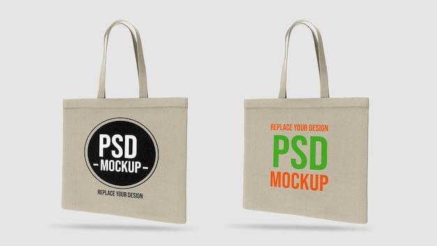 3d-rendering-design des einkaufstaschenmodells