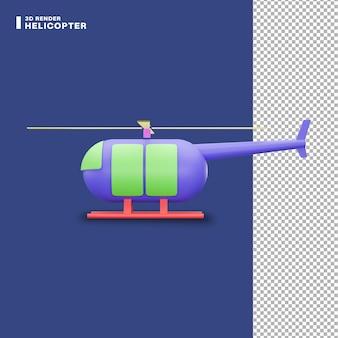 3d-rendering-helikopter-symbol