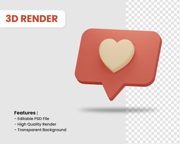 3d-rendering wie symbol isoliert