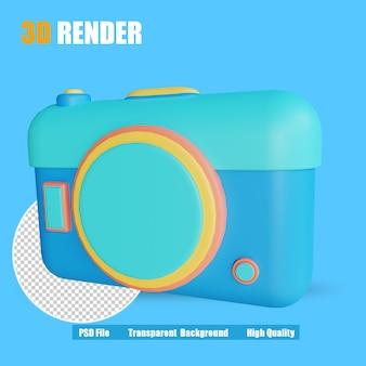 3d-rendersymbol-kamera