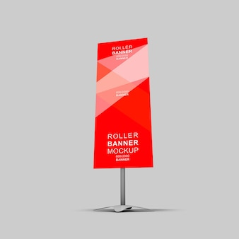 3d rollup banner modell
