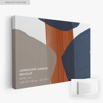 3x2 hängendes landschafts-leinwandmodell