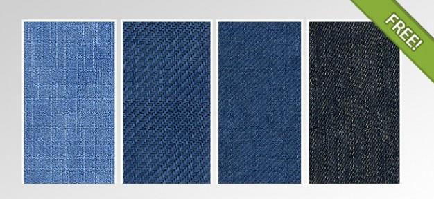 4 große denim / deans textures