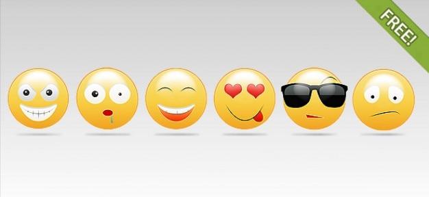6 smily abbildungen