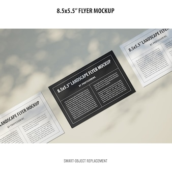 8,5x5,5 flyer-modell