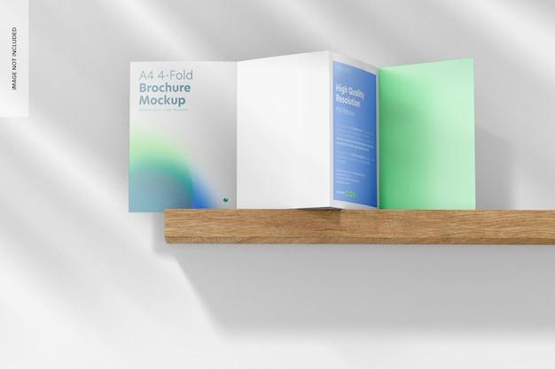 A4 4-fach broschürenmodell