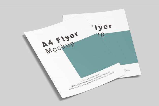 A4 / a5 flyer modell
