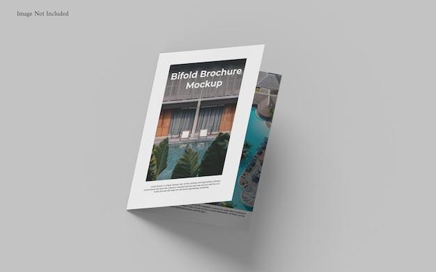 A4 bifold broschüre mockup