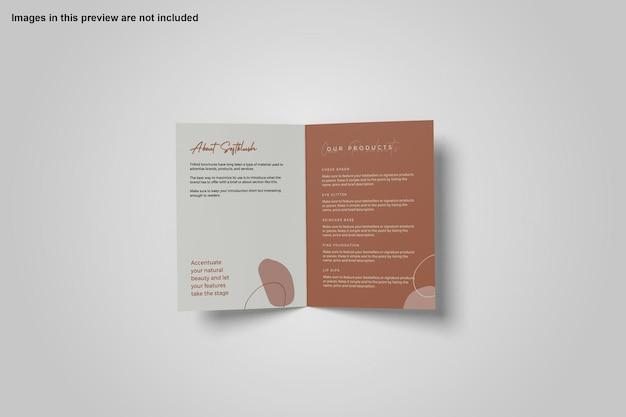A4-bifold-broschürenmodell-design