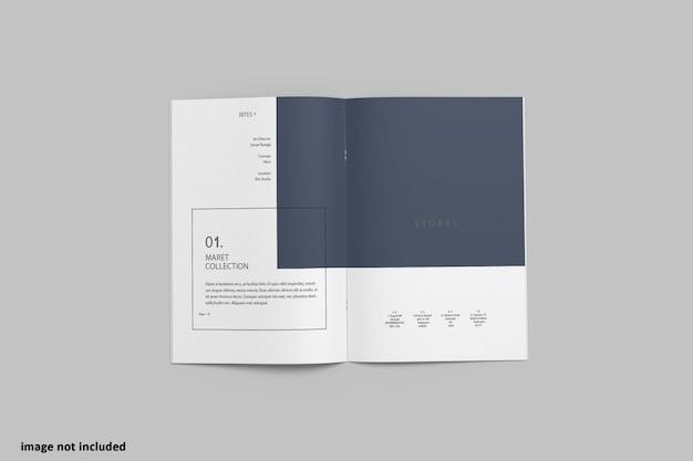 A4 broschüre 2f katalogmodell
