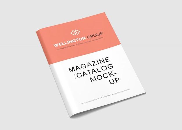 A4 broschüre & magazin mock-ups