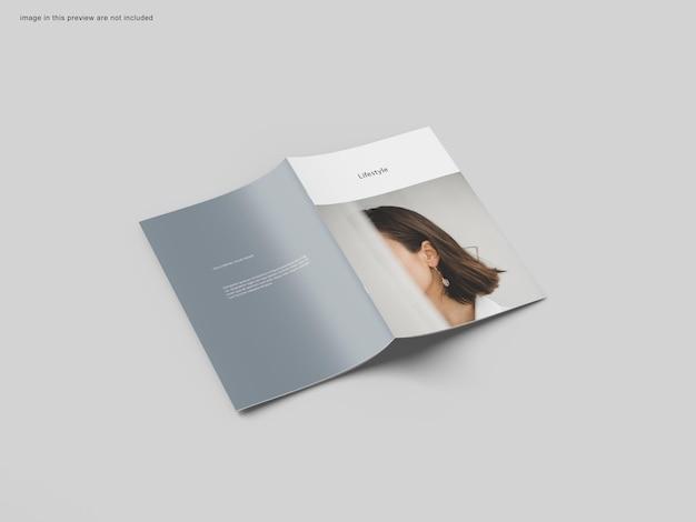 A4 broschürenmodell