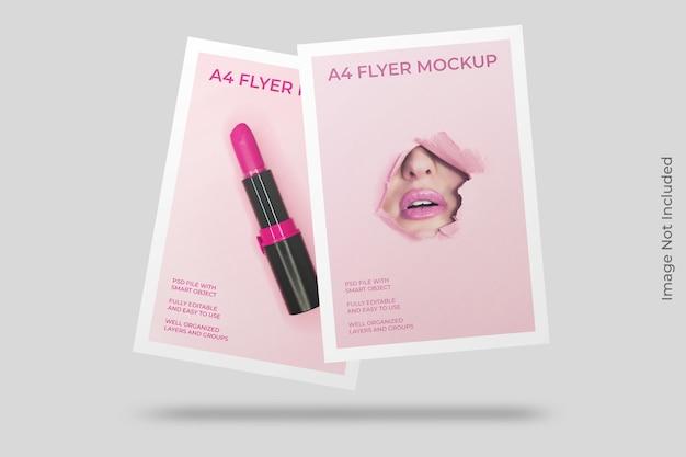 A4 flyer broschüre modell