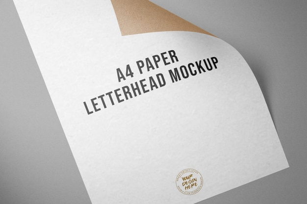 A4-papiermodell