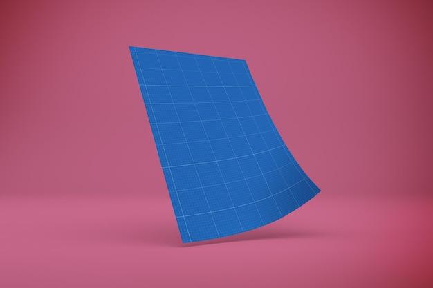 A4 papiermodell