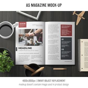 A5 broschüre modell
