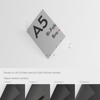 A5 broschüre präsentation