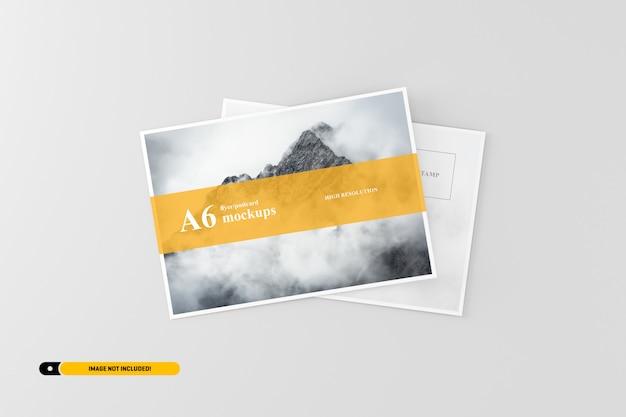 A6 postkarte / flyer modell