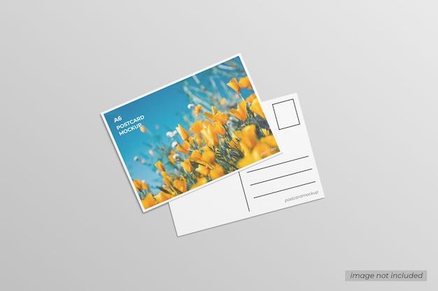 A6 postkartenmodell