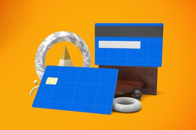 Abstrakte kreditkarte
