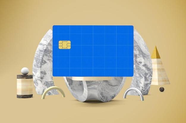 Abstraktes kreditkartenmodell
