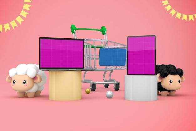 Adha responsive shopping Premium PSD