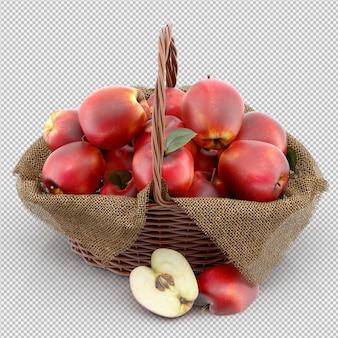 Äpfel 3d übertragen