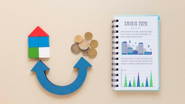 Analyse des wirtschaftskrisenberichts