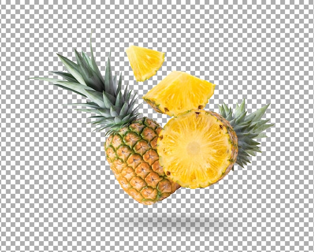 Ananas isoliert