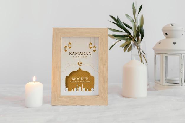Anordnung des ramadan-rahmenmodells im innenbereich