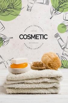 Anordnung für kosmetiksalonschablone