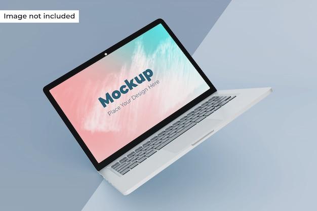 Anpassbarer schwimmender laptop