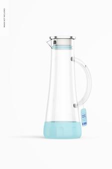 Anti-rutsch-glas-wasserglas-modell