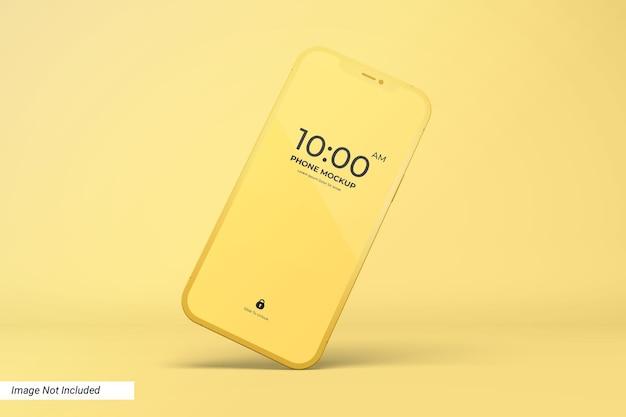 App-bildschirm und smartphone-modell