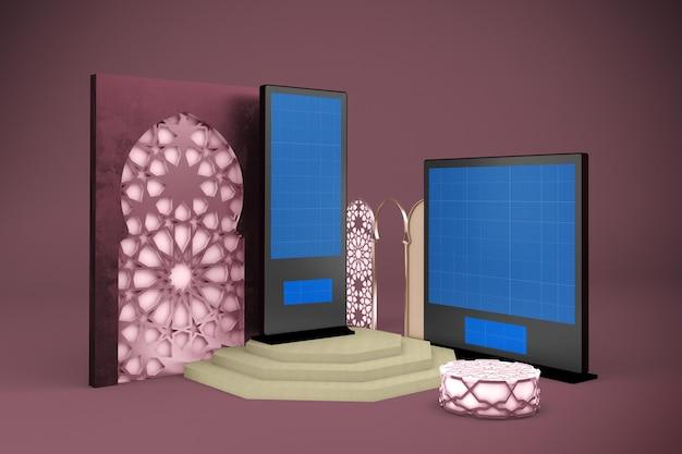 Arabische digital signage