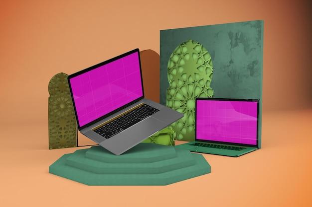 Arabischer laptop