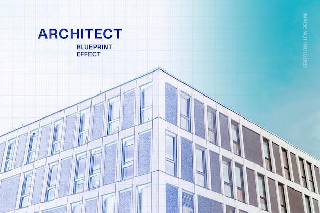 Architekt blaupauseneffekt